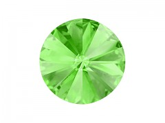 Swarovski Elements Rivoli 1122 – Peridot Foiled – 10mm