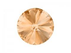 Swarovski Elements Rivoli 1122 – Light Peach Foiled – 6mm