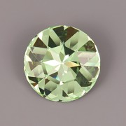 Round Stone Swarovski Elements 1201 – Chrysolite Foiled – 27mm
