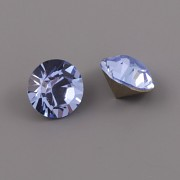 Swarovski Elements XILION Chaton 1088 - Light Sapphire Foiled - 8mm