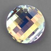 Swarovski Elements přívěsky 6621 – Twist – Crystal AB – 18mm