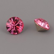 Swarovski Elements XILION Chaton 1088 – Rose Foiled – 6mm