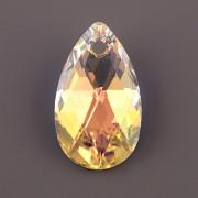 Swarovski Elements přívěsky 6106 – Hruška – Crystal AB – 22mm