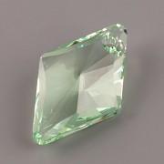 Swarovski Elements přívěsky 6320 – Rhombus – Chrysolite – 27mm