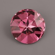 Round Stone Swarovski Elements 1201 – Rose F – 27mm