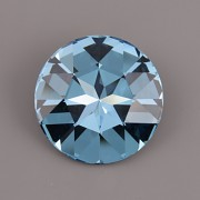 Round Stone Swarovski Elements 1201 – Aquamarine F – 27mm