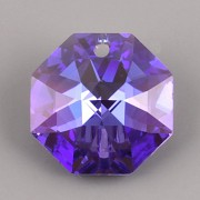 Swarovski Elements Strass 8115 – Octagon – Blue Violet Blue AB – 14mm
