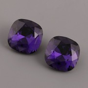 Fancy Stone Swarovski Elements 4470 – Purple Velvet Foiled – 12mm