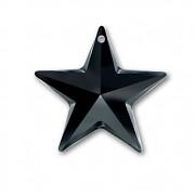 Swarovski Elements přívěsky 6714 – Hvězda – Jet – 28mm