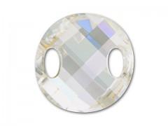 Našívací kamínky Swarovski Elements 3221 – Twist Sew–on – Moonlight – 28mm