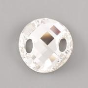 Našívací kamínky Swarovski Elements 3221 – Twist Sew–on – Crystal Foiled – 28mm