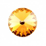 Swarovski Elements Rivoli 1122 – Sunflower Foiled – 8mm