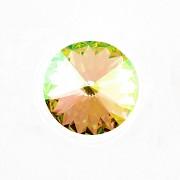 Swarovski Elements Rivoli 1122 – Luminous Green Foiled – 14mm