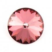 Swarovski Elements Rivoli 1122 – Antique Pink Foiled – 14mm