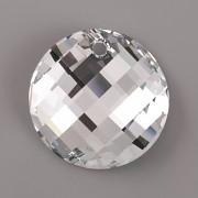 Swarovski Elements přívěsky 6621 – Twist – Crystal CAL P – 18mm