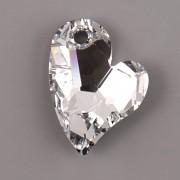 Swarovski Elements přívěsky 6261 – Devoted 2 U Heart - Crystal CAL 27mm