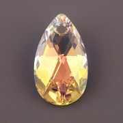 Swarovski Elements přívěsky 6106 – Hruška – Crystal AB –28mm