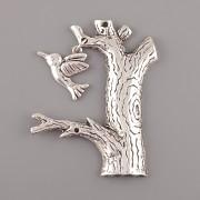 Přívěsek strom s ptáčkem