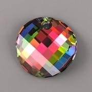 Swarovski Elements přívěsky 6621 – Twist – Vitrail Medium P – 18mm