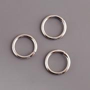 Spojovací kroužky - 4 mm - rhodiováno