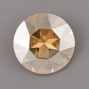 Round Stone Swarovski Elements 1201 – Golden Shadow Foiled – 27mm