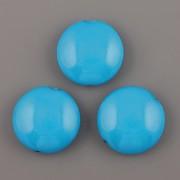 Lentilka modrá - 21mm
