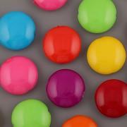 Lentilka 14mm - mix 8 barev - 16 korálků