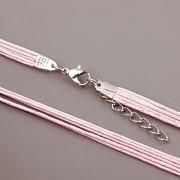 Šnůrková obruč - růžová