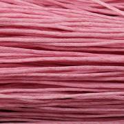 Šnůrka bavlněná - růžová - metráž