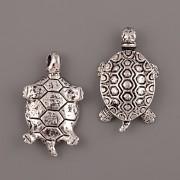 Přívěsek želva velká - starostříbro