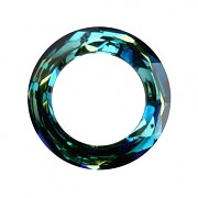 Swarovski Elements 4139 – Cosmic Ring – Bermuda Blue – 14mm