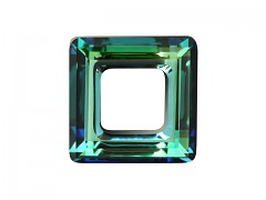 Swarovski Elements 4439 – Square Ring – Bermuda Blue – 20mm