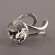 Prsten pro Dentelle Swarovski 1200 - ss60 - rhodiováno