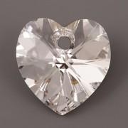 Swarovski Elements přívěsky 6228 – Srdce – Crystal Foiled – 10mm