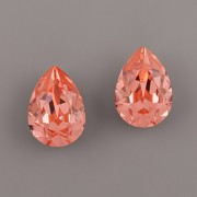 Slzička Swarovski Elements 4320 - Rose Peach F - 14mm