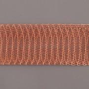 Drátěná stužka 1m - šíře 10mm - měděná