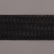 Drátěná stužka 1m - šíře 18mm - černá