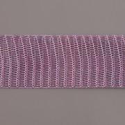 Drátěná stužka 1m - šíře 18mm - fialová