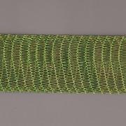 Drátěná stužka 1m - šíře 18mm - zelená