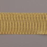 Drátěná stužka 1m - šíře 18mm - zlatá