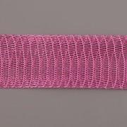Drátěná stužka 1m - šíře 18mm - růžová