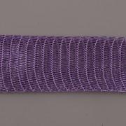 Drátěná stužka 1m - šíře 18mm - tmavě fialová