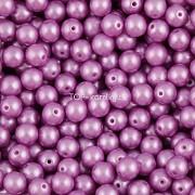 Nano Perličky - 100ks - 4mm - barva 1825012 - fialové