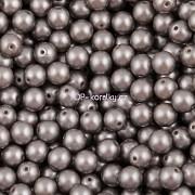 Nano Perličky - 200ks - 3mm - barva 2325028 - šedostříbrné