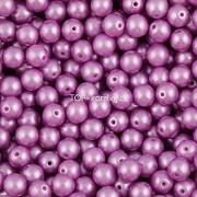 Nano Perličky - 200ks - 3mm - barva 1825012 - fialové