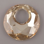 Victory přívěsek Swarovski Elements 6041 - Crystal Golden Shadow - 38mm