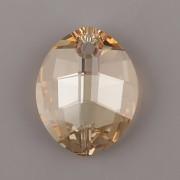 Pure Leaf přívěsek Swarovski Elements 6734 - Crystal Golden Shadow - 23mm