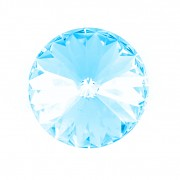 Swarovski Elements Rivoli 1122 – Light Turquoise Foiled – 14mm