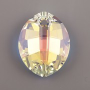 Pure Leaf přívěsek Swarovski Elements 6734 - Crystal AB - 23mm