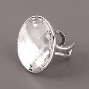 Prsten pro Crystal Rocks Swarovski 30mm - rhodiováno